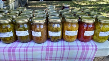 pickles and preserves from Poverty Hollow